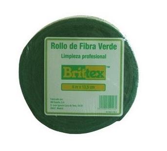 ROLO FIBRA VERDE BRITTEX 6m x 135 mmm