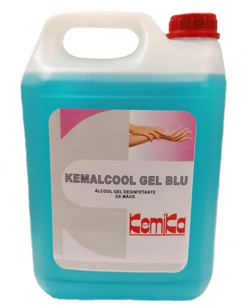 KEMALCOOL GEL BLU - Emb. 5 Lts.