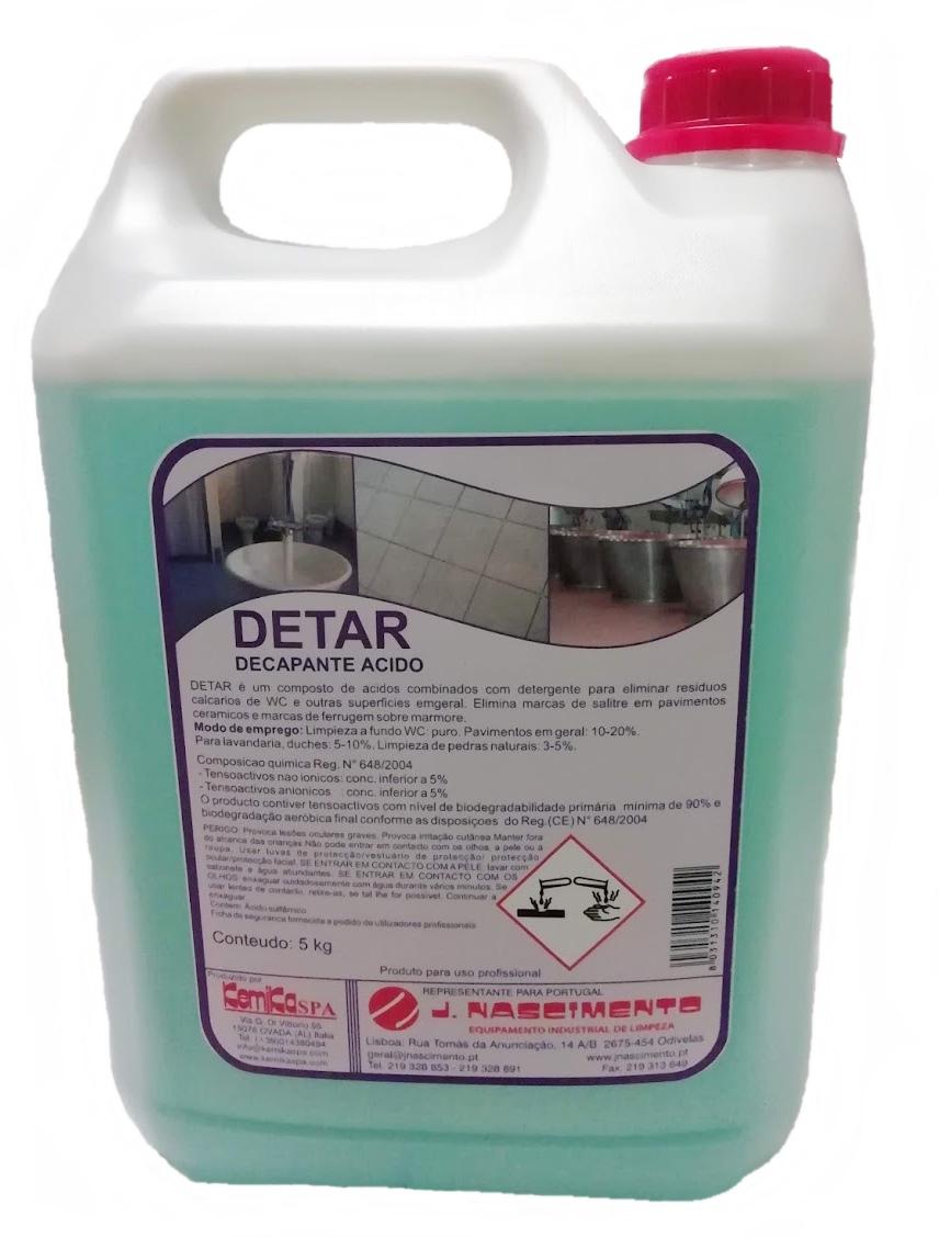 DETAR - Emb. 5 Lts. (Decapante ácido)