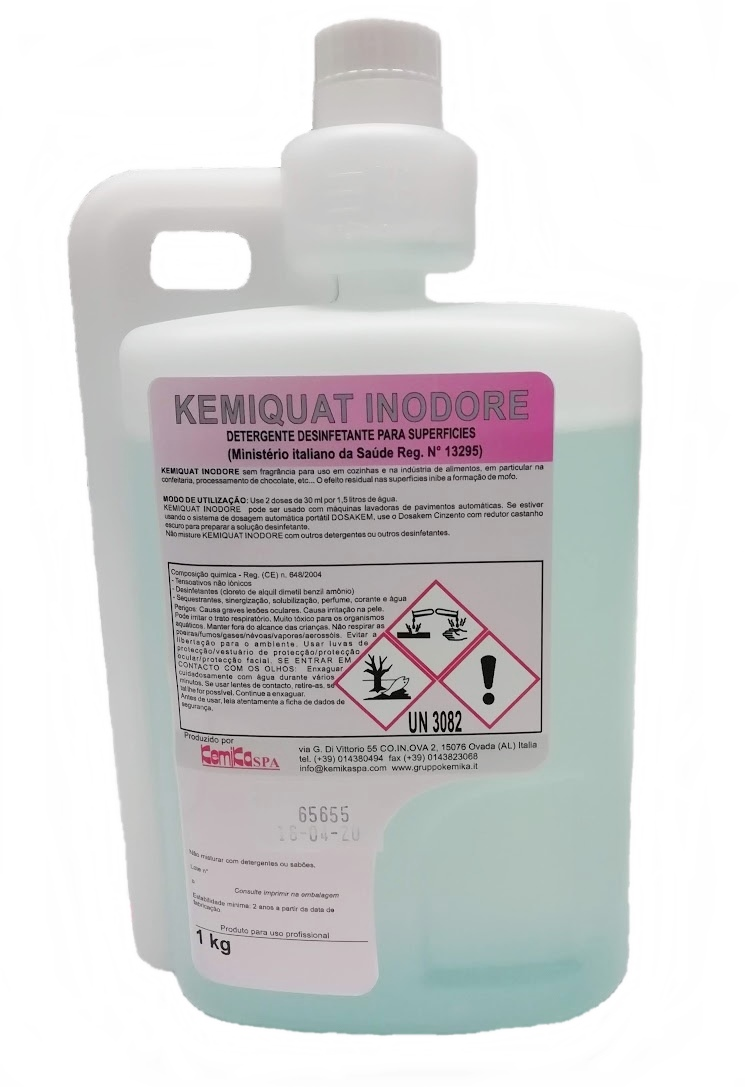 KEMIQUAT INODORE - Emb. 1 Lts. COM DOSEADOR