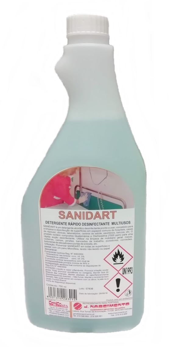 SANIDART - Emb. 750 cl (Desinfectante)